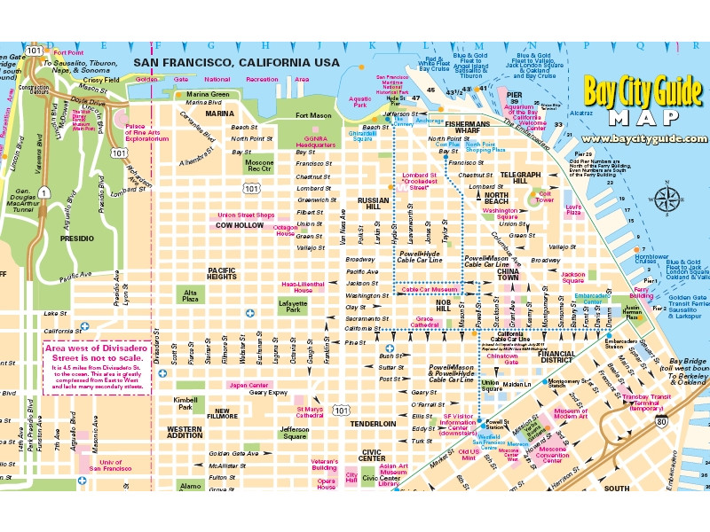 San Francisco Maps Guide San Francisco